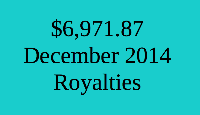 December 2014 Estimated Royalties