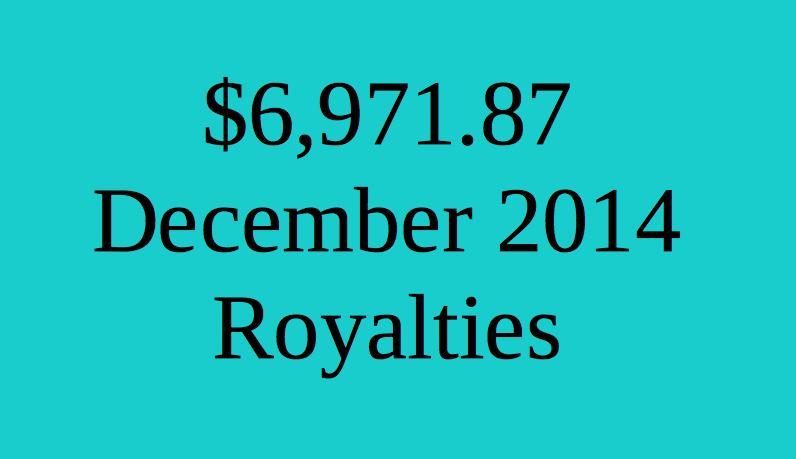 December 2014 Estimated Royalties