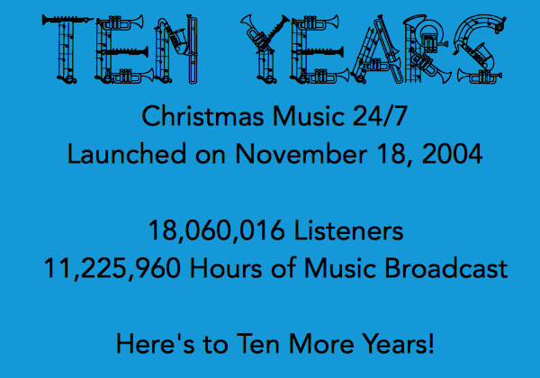 Christmas Music 24/7 | Christmas Music, 24 hours a day, 7 days a week